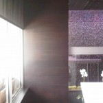 Haven Lounge Commercial Electrical Window Shades installation Wiring by dmg Martinez Group in Miami