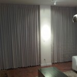 Residential Drapery Window Treatment installation by dmg Martinez Group in Miami