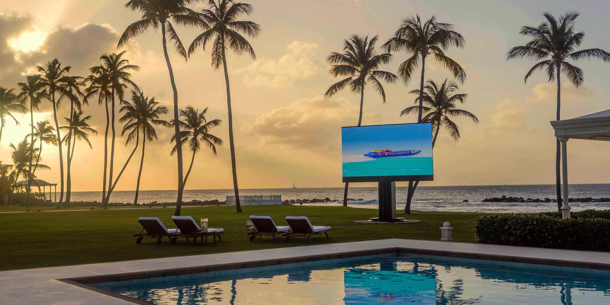 Sales, installation, and integration of C SEED 201 Giant Outdoor LED TV, in the Miami / Fort Lauderdale area. Available at dmg Martinez Group.