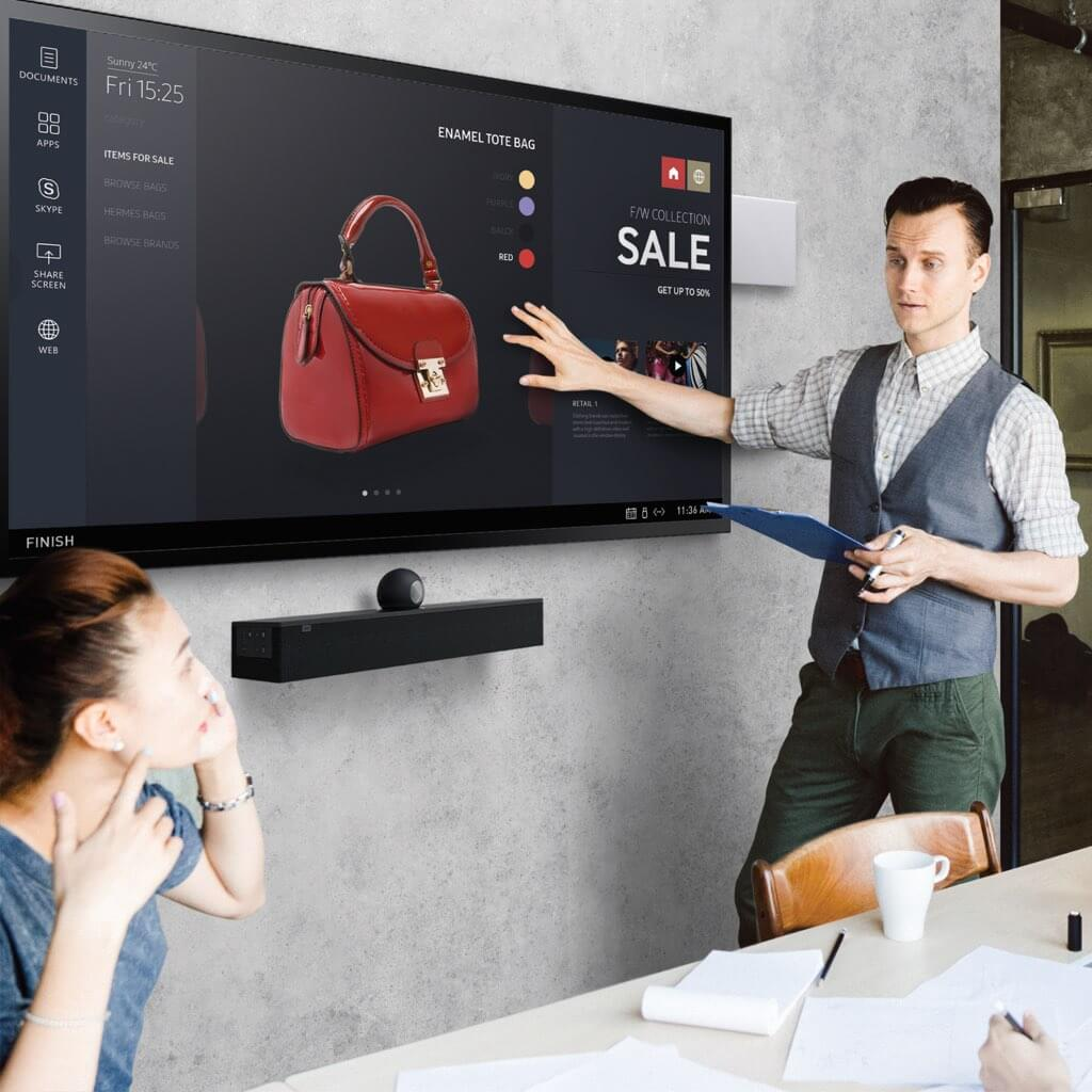 Sales, installation, and integration of AMX Acendo Vibe 5100 Conferencing Sound Bar with Camera, in the Miami / Fort Lauderdale area. Available at dmg Martinez Group.