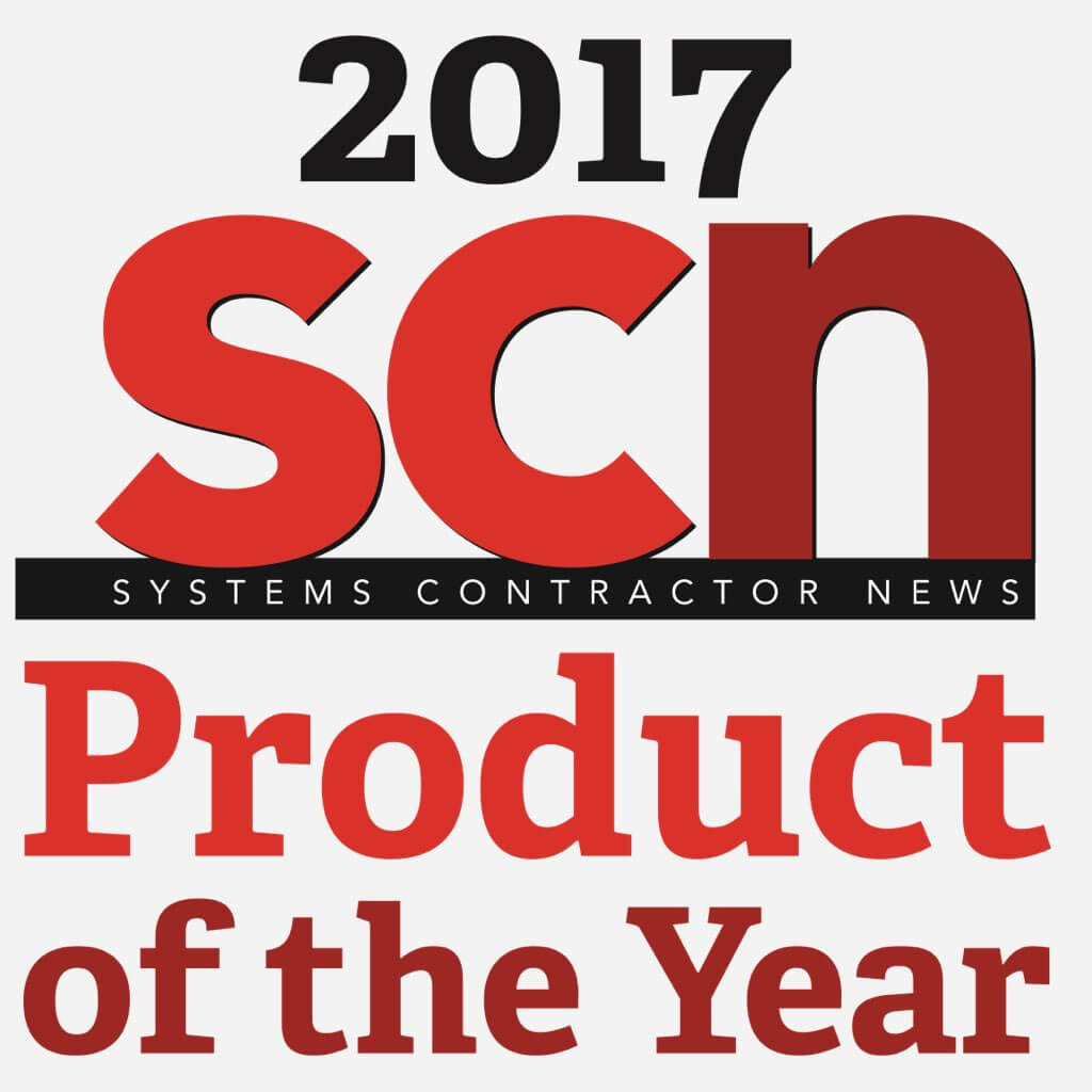 Sales, installation, and integration of AMX Acendo Vibe Conferencing Sound Bar with Camera, 2017 SCM Products of the Year
