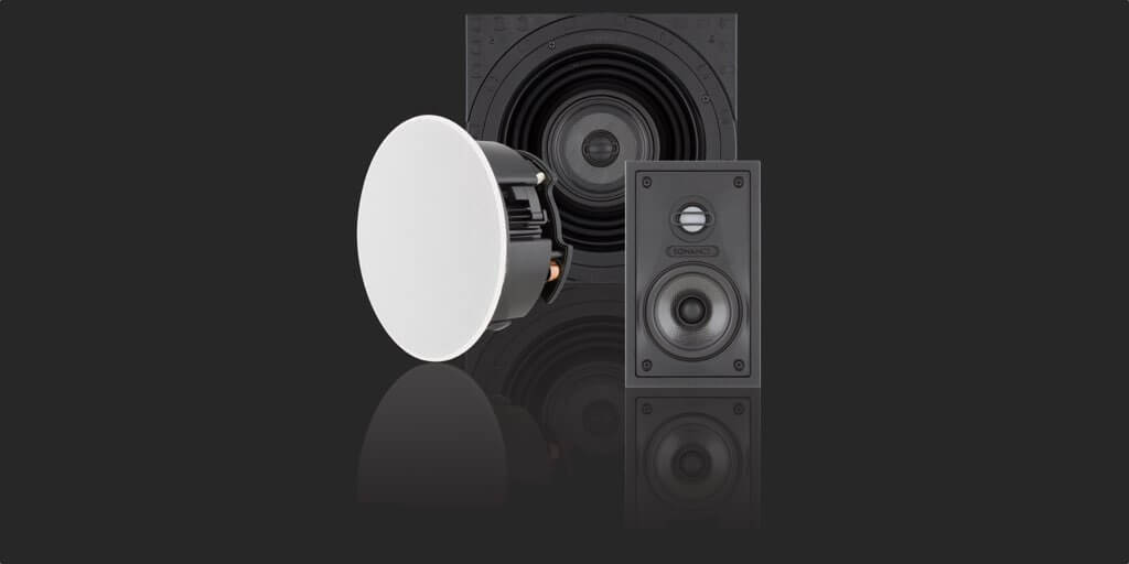 Sales and installation of Sonance Visual Performance Series In-wall and In-ceiling speakers, in the Miami / Fort Lauderdale area. Available at dmg Martinez Group.