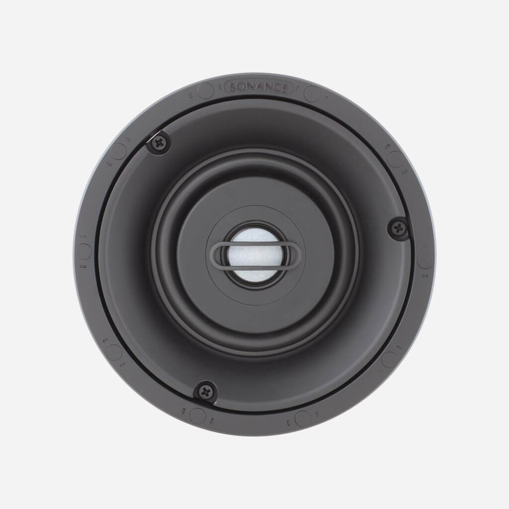 Sonance VP48R Visual Performance Small Round Speaker SKU# 93011, in the Miami / Fort Lauderdale area. Available at dmg Martinez Group.
