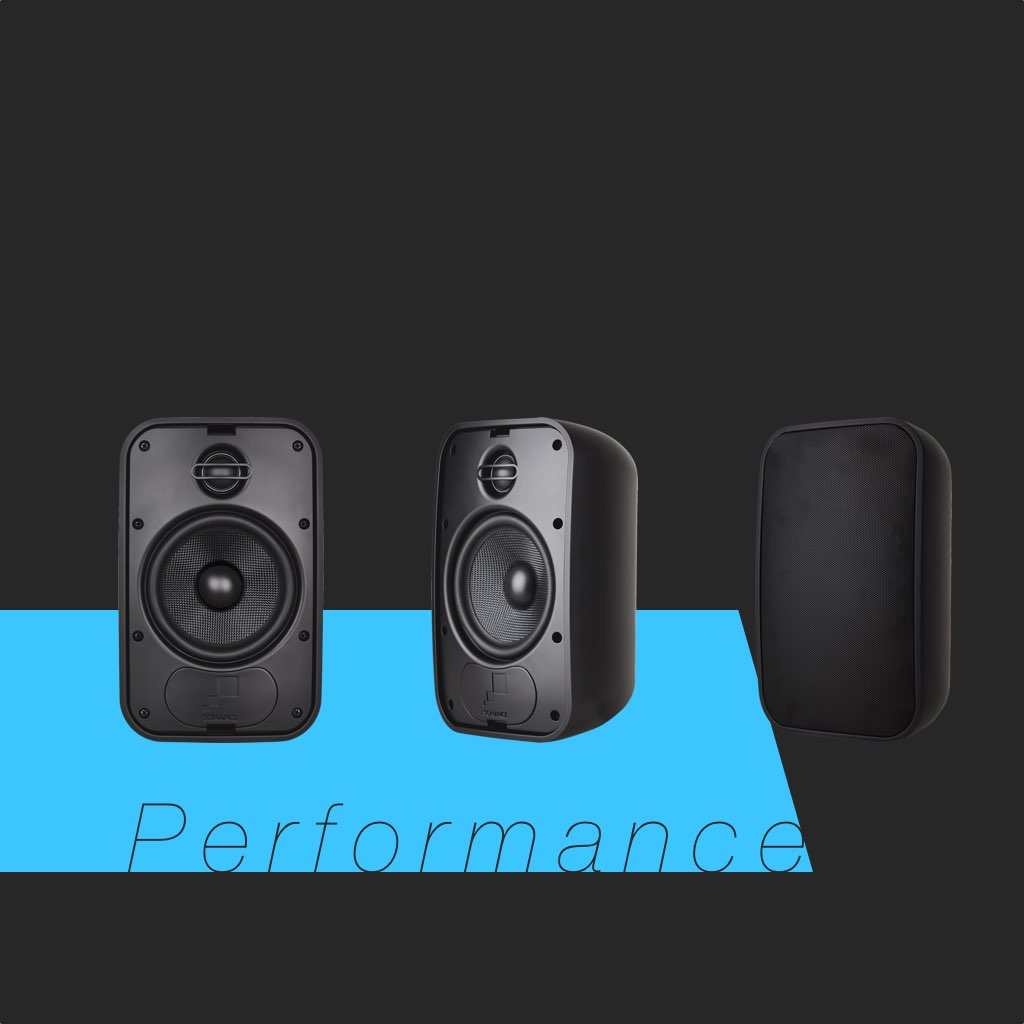 Sonance Mariner 56 in Black SKU# 93151 Small Outdoor Speaker, in the Miami / Fort Lauderdale area. Available at dmg Martinez Group.