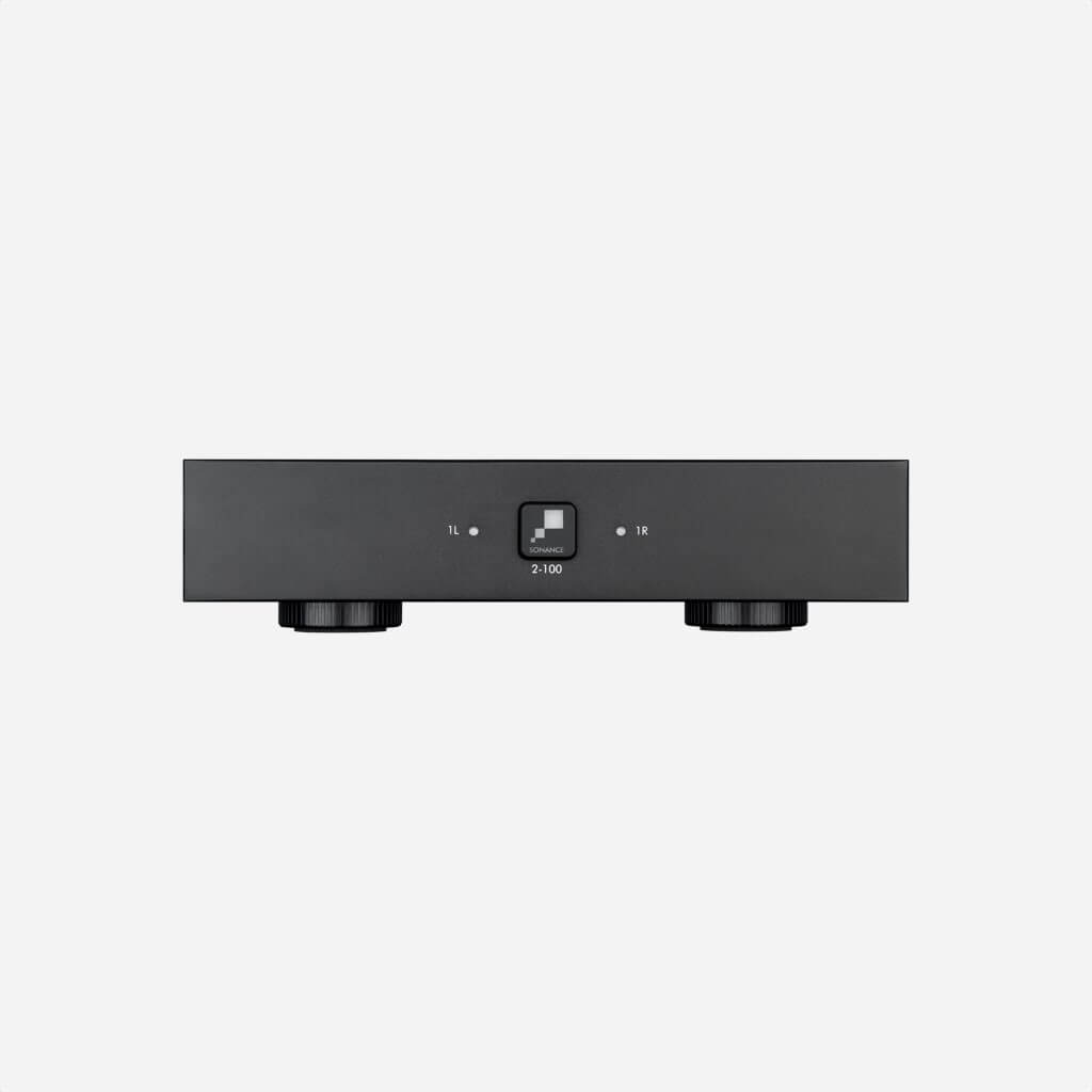 Sonamp 2-100 SKU# 93091 two channels Digital Amplifier, in the Miami / Fort Lauderdale area. Available at dmg Martinez Group.