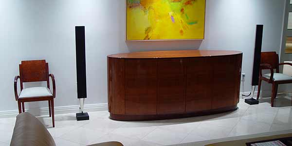 B&o Audio Visual fine installation, Key Biscayne, FL. By dmg Martinez Group.