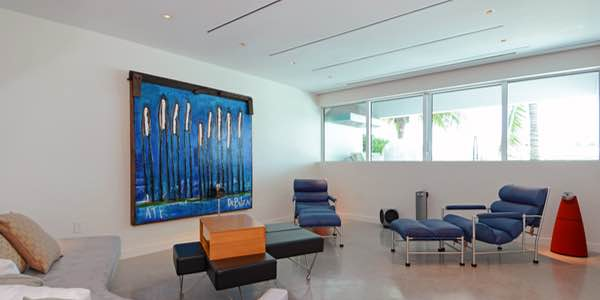 Bang & Olufsen Whole Home Audio Visual Installation, in Miami Beach, FL. By dmg Martinez Group.